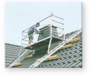 Echafaudages pour toits et cheminées